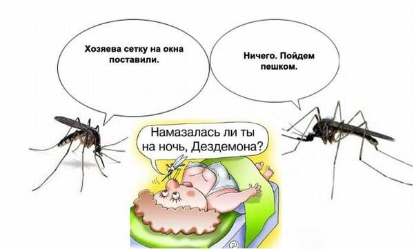 Какую группу крови любят комары и каких людей чаще кусают
