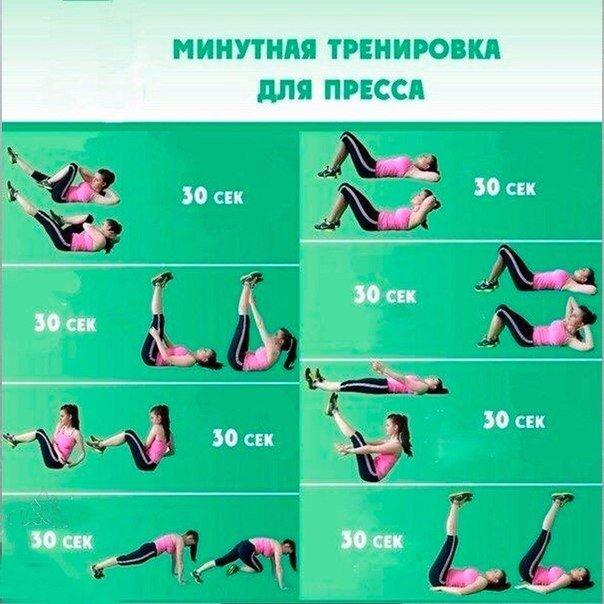 Эффективные упражнения для пресса - видео