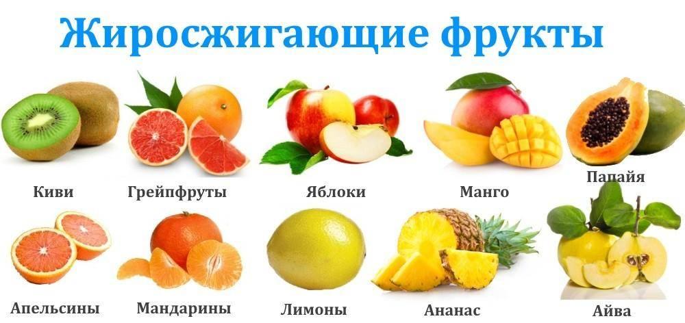 Фрукты при диете - полезные свойства и вред, список несладких и низкокалорийных