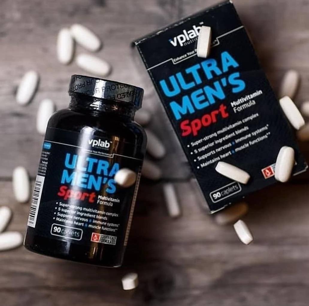 Ultra Men's Sport от VPLab: как принимать витамины мужчинам