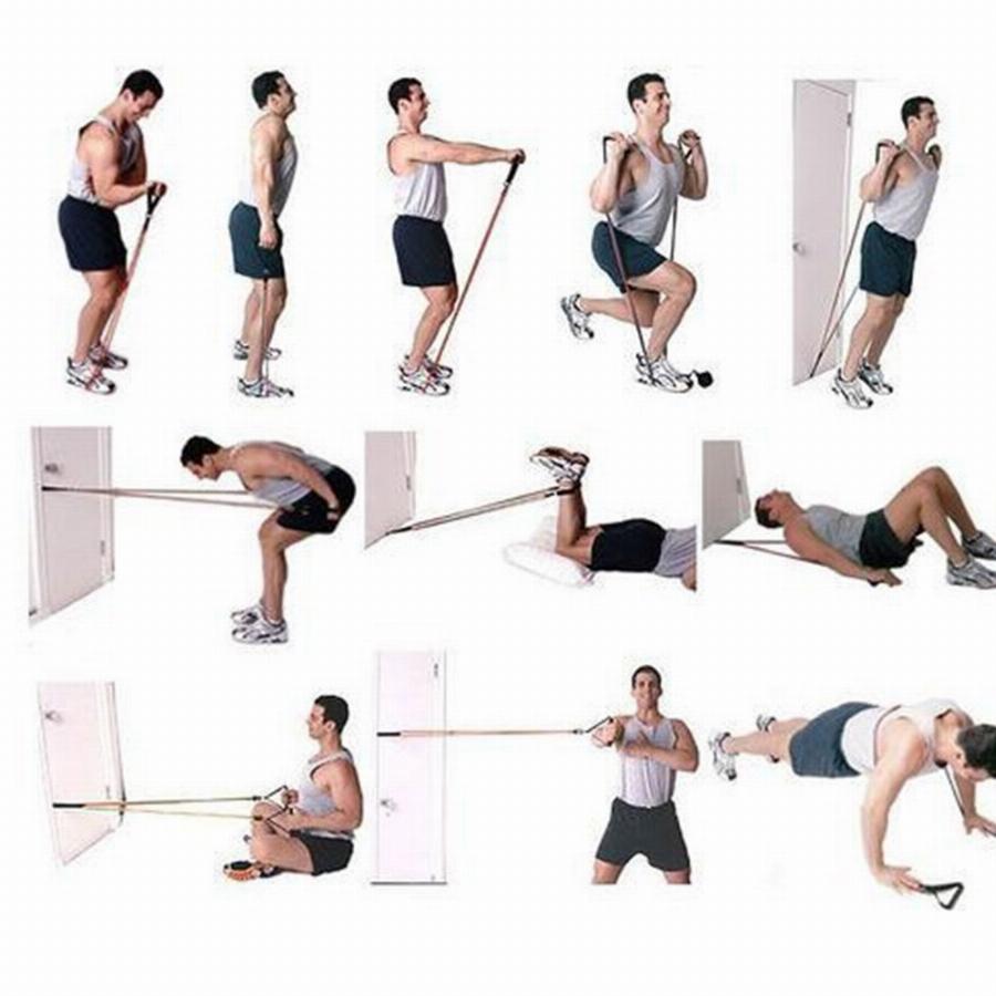 Топ эффективных упражнений с эспандером для мужчин и женщин