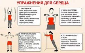 Упражнения для укрепления сердечной мышцы