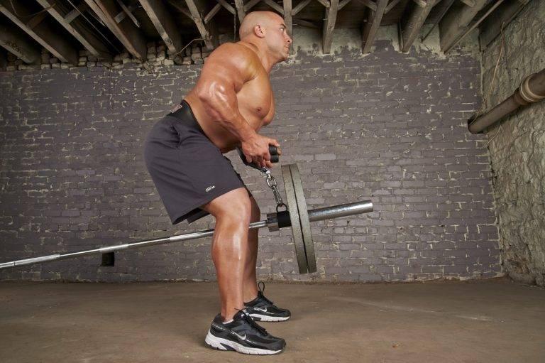 Тяга штанги лежа на скамье: техника выполнения, какие мышцы работают