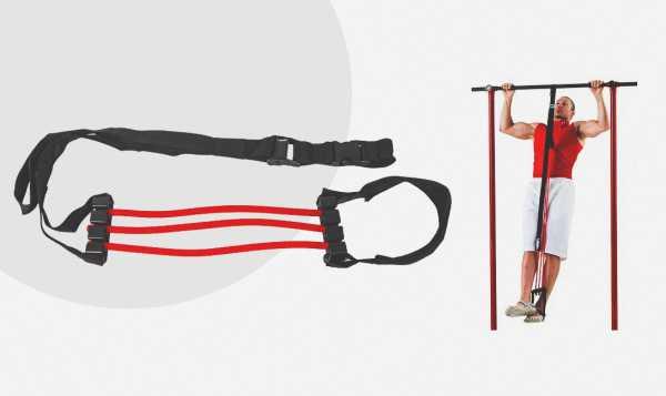Подтягивание с резинкой: техника упражнения, как выбрать эспандер для турника
