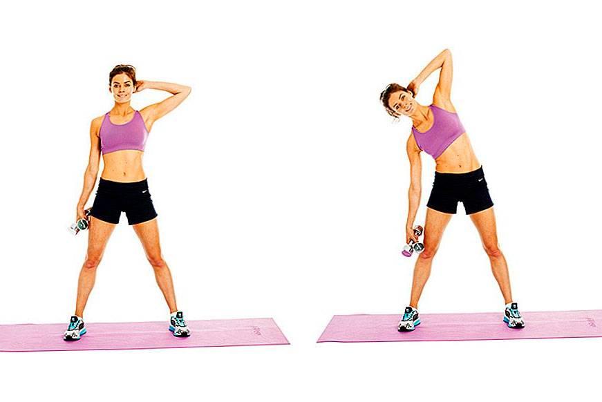 Наклоны с гантелями: техника и польза упражнения | rulebody.ru — правила тела