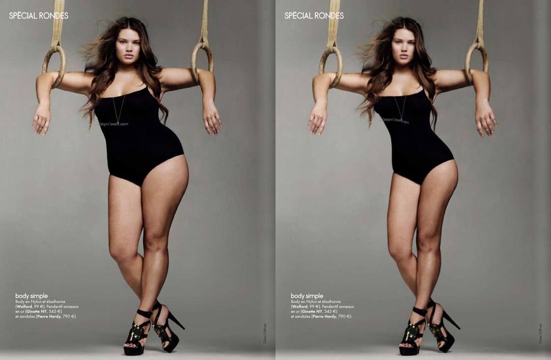 Модели, которые были полными и похудели ради карьеры: подборка фото