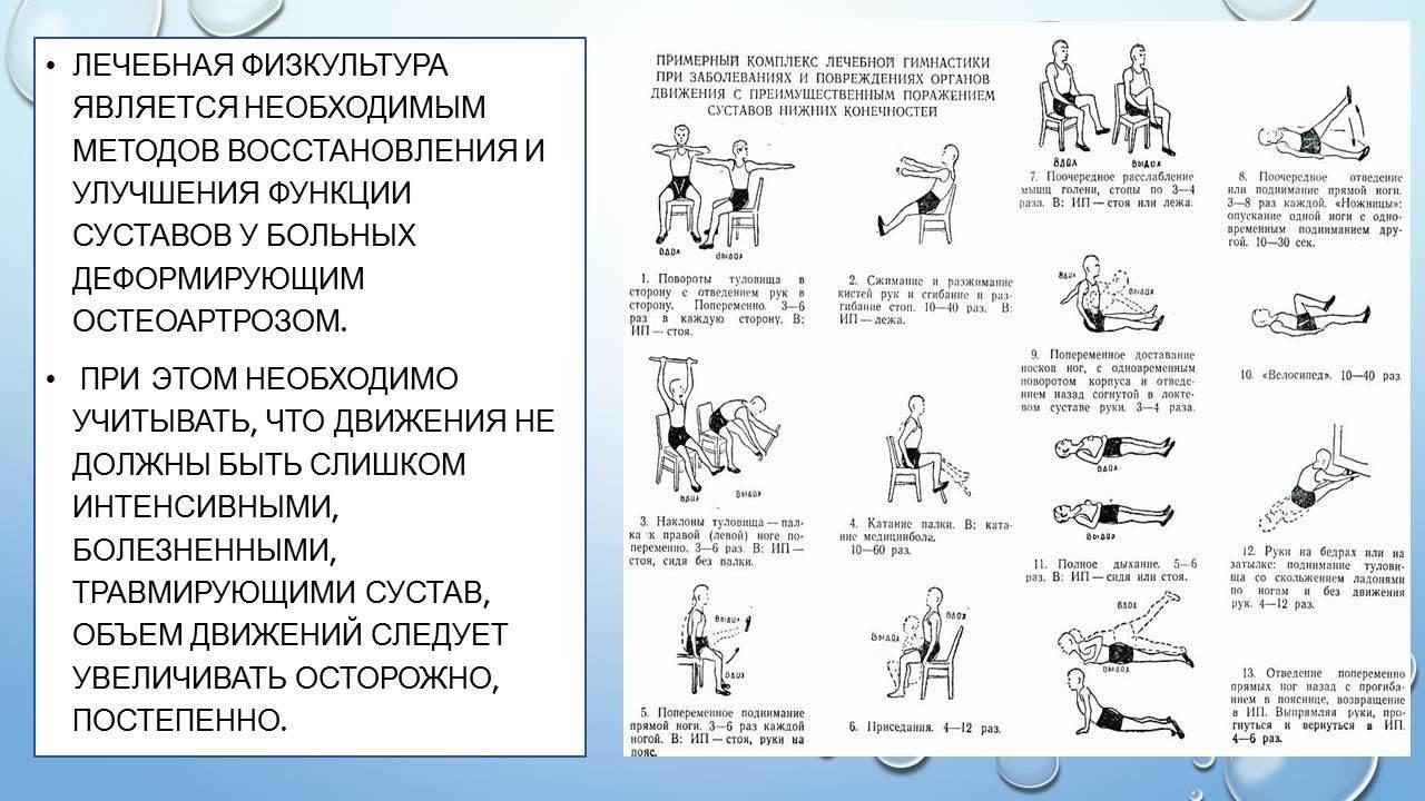 Суставная гимнастика для пожилых и начинающих