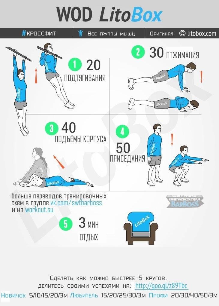 Топ-10 упражнений с собственным весом, которые можно выполнять где угодно