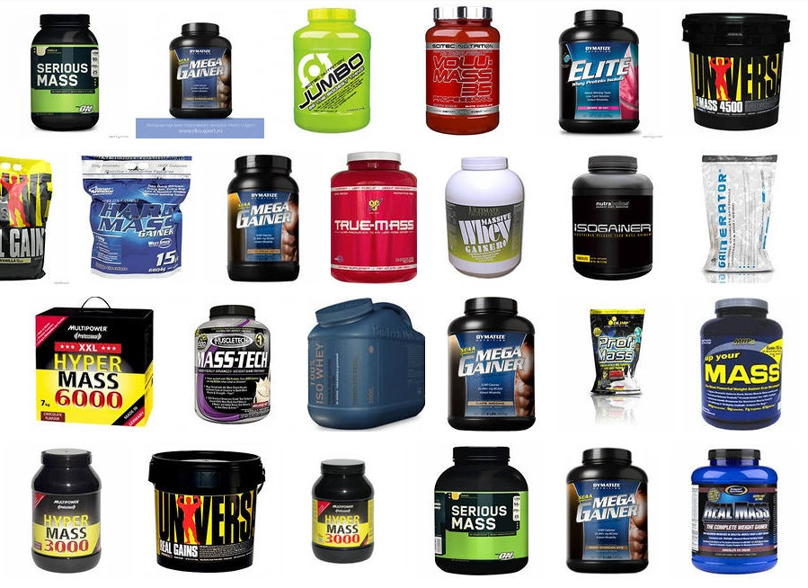 Протеин и гейнер – чем эти добавки отличаются