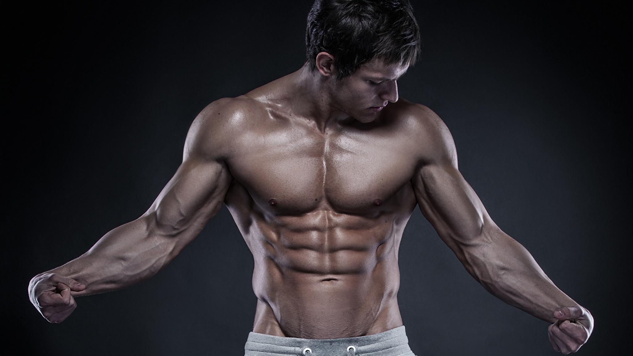 Красивое мужское тело в домашних условиях :: syl.ru