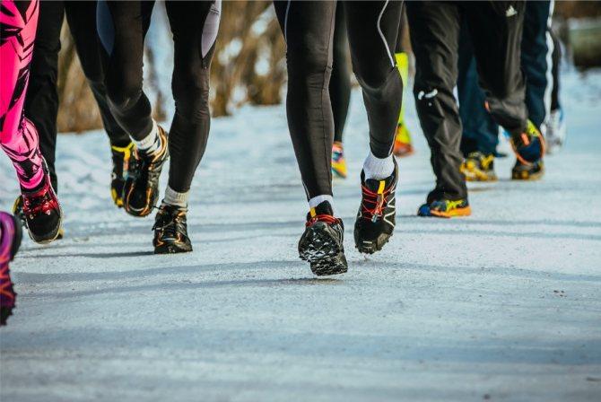 Как бегать зимой на улице - правильный подход к пробежкам