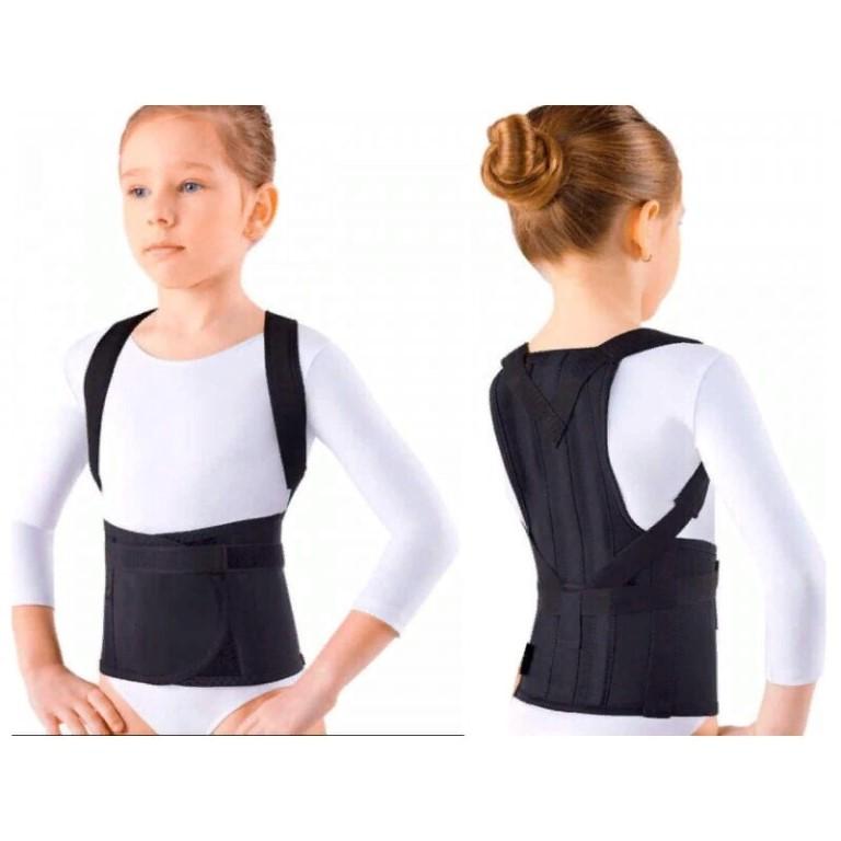 Ортопедический корсет для осанки спины для взрослых и детей