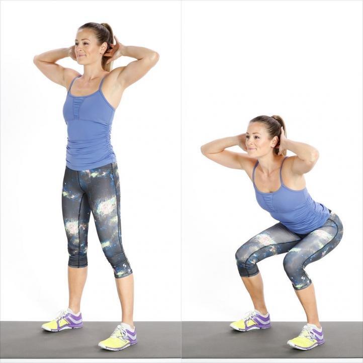 Приседания с резинкой на ногах: так ли эффективно упражнение?