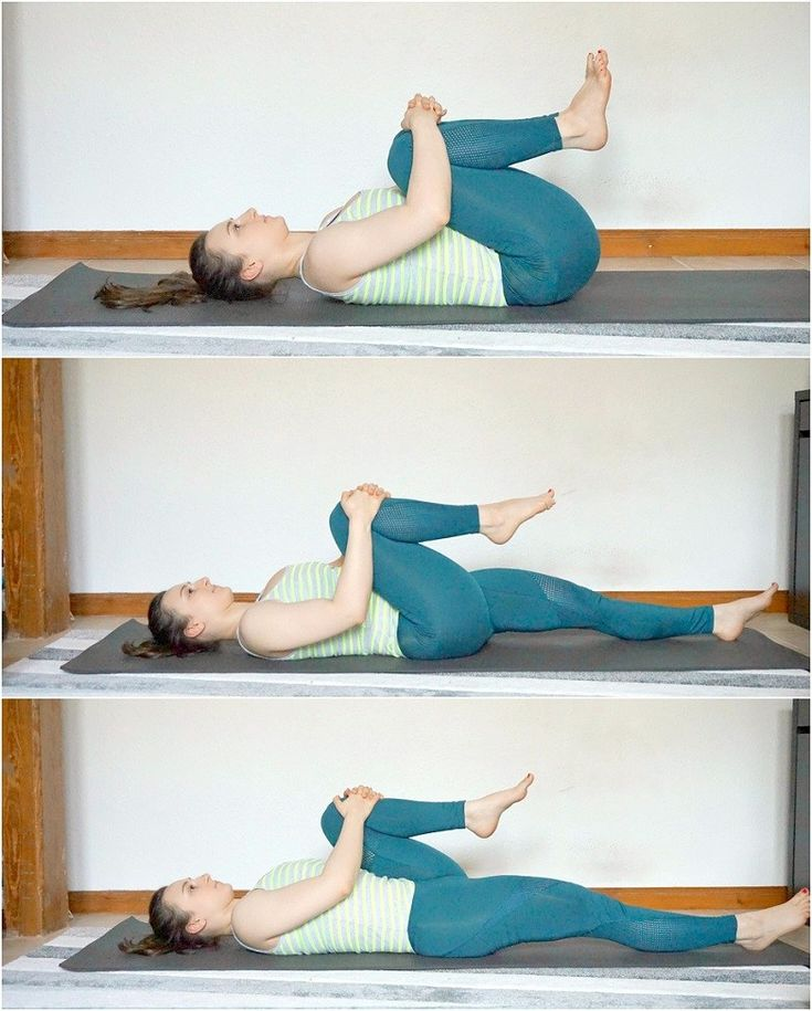 Растяжка спины и позвоночника