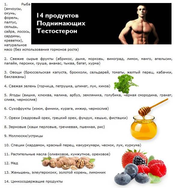 Список лекарственных трав для повышения тестостерона у мужчин