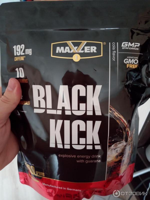 Пакет black kick 500 гр (maxler)  купить в москве по низкой цене – магазин спортивного питания pitprofi