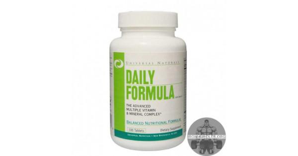 Витамины daily formula инструкция на русском