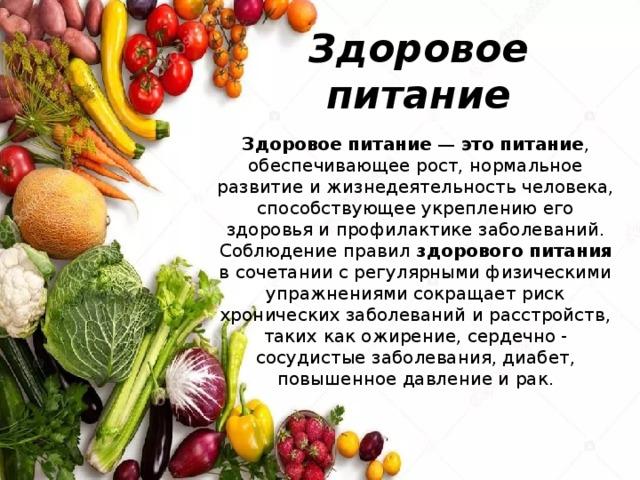 20 мифов о правильном питании