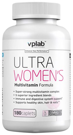 Купить vplab ultra women's multivitamin formula 180 капсул