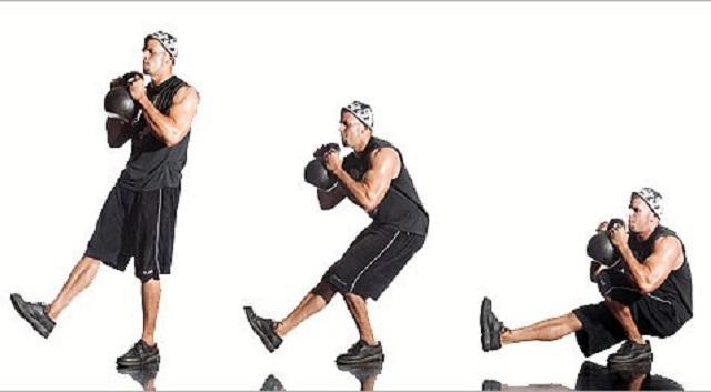 5 тренировок с гирями для развития силы и сжигания жира