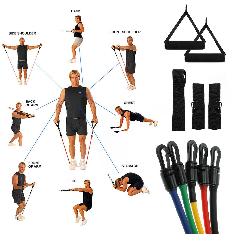 Топ эффективных упражнений с эспандером, правильная техника выполнения