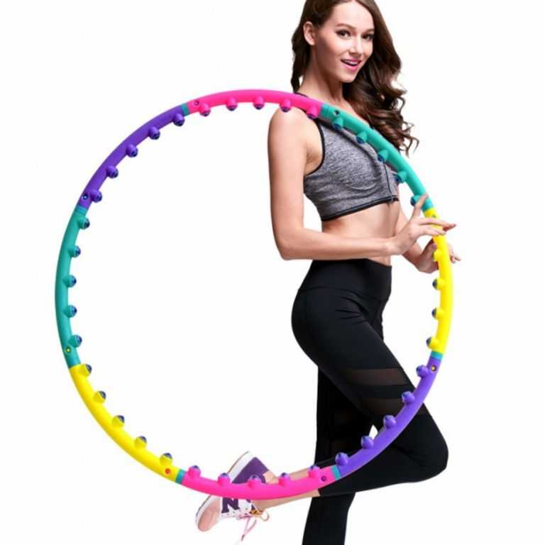 5 упражнений с обручем для эффективного похудения