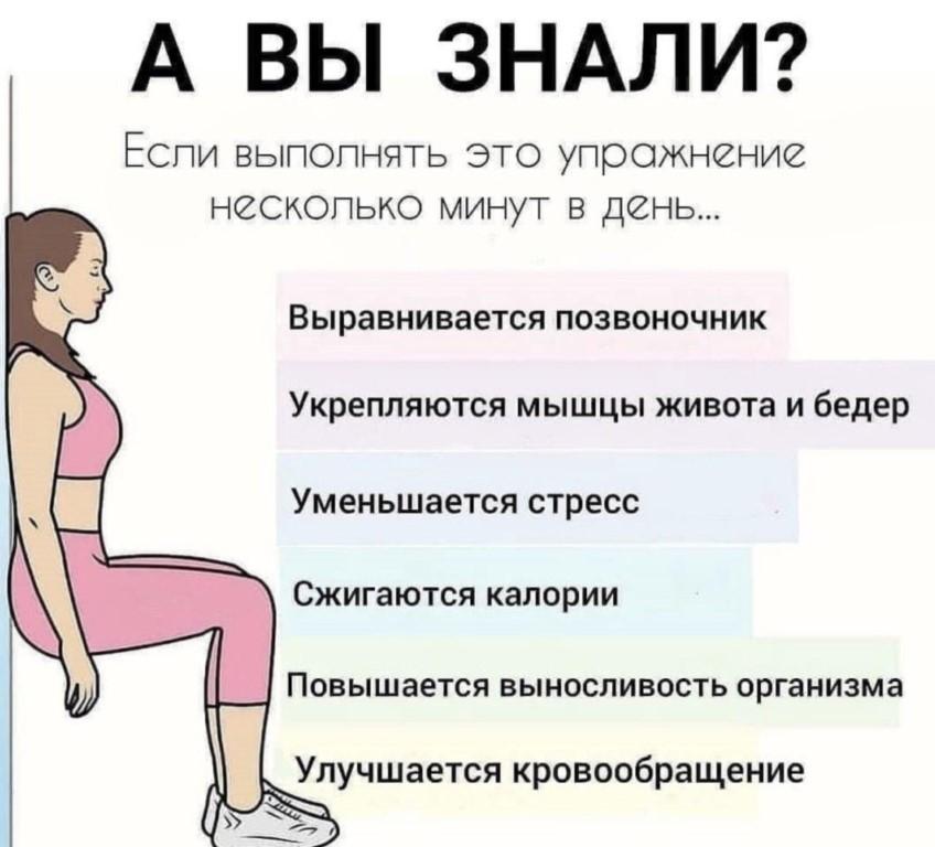 «стульчик у стены» – упражнение для похудения, укрепления мышц ног и