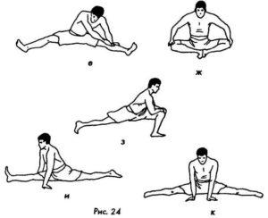 Как сесть на шпагат за месяц, комплекс упражнений для начинающих