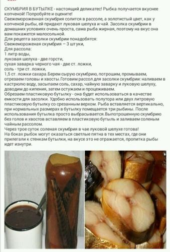 Копченая скумбрия в луковой шелухе самый вкусный рецепт