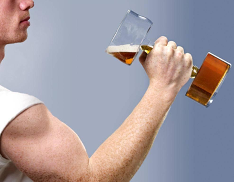 Как алкоголь влияет на мышцы: разрушение шаг за шагом!