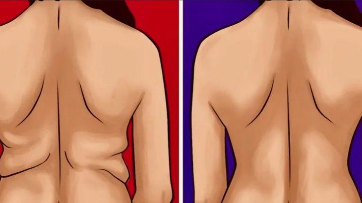 7 лучших упражнений для похудения нижней части спины — как убрать жир с поясницы и боков женщинам?