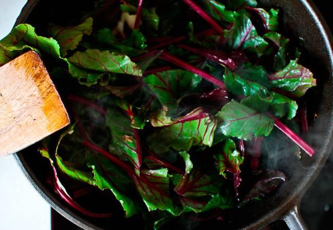 Свекла листовая - рецепты