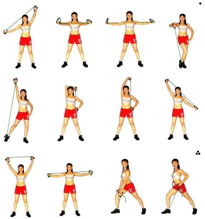 15+ лучших упражнений с фитнес резинками: для рук, ног, ягодиц и пресса