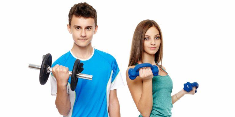 Как подростку набрать вес и мышечную массу? программа тренировок