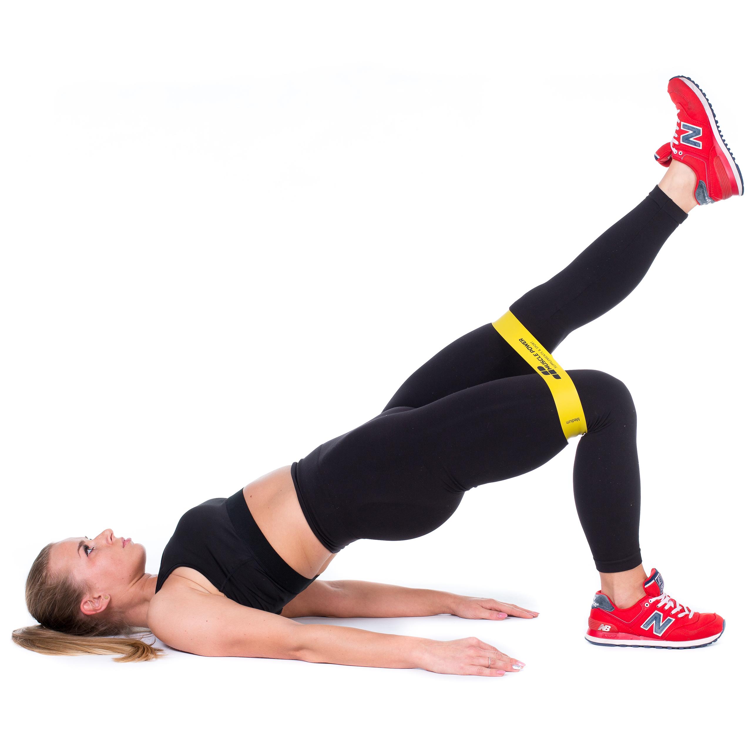 Всё о фитнес-резинках: лучшие упражнения на все части тела