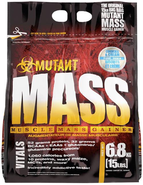 Mutant mass от mutant - спортивное питание на dailyfit