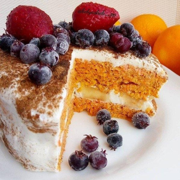 ПП Торт для здорового питания — рецепт с фото