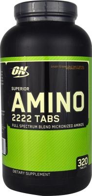 Superior amino 2222 320 табл (optimum nutrition) купить в москве по низкой цене – магазин спортивного питания pitprofi