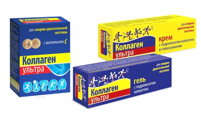 Препараты для лечения связок и суставов