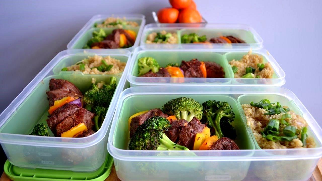 Рацион питания для набора массы и рельефной мускулатуры