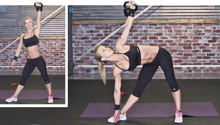 Как делать упражнения мельница