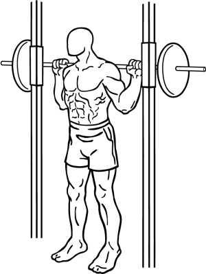 Правильная техника выполнения приседаний в смите, какой вес брать в этом упражнении?
