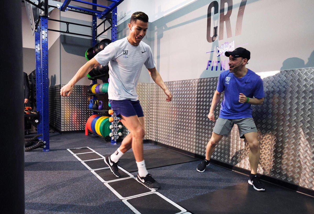 Как быть в форме после тридцати: тренировки криштиану роналду